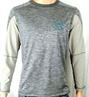 Seattle Seahawks inspired 12 Go Hawks Micro Fleece Base Layer Navy Heather Gray on eBay
