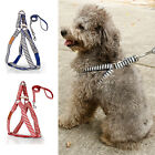 AM1 Pet Nylon Harness Adjustable Safe Control Puppy Dog Harness Walk Chest Strap