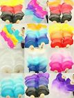 FREE BAG PAIRS 1.5M BELLY DANCE 100% SILK FAN VEILS MULTICOLOR FREE SHIPPING 33