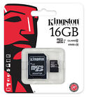 Kingston 8GB 16GB 32GB 64GB Class 10 microSD SD SDHC SDXC Flash Memory Card Lot