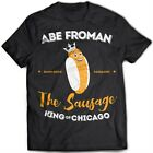 9226 Abe Froman T-Shirt Ferris Bueller's Day Off Save Sausage King 80s Comedy
