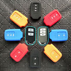 FIT FOR 2015 HONDA KEYLESS SILICONE KEY COVER FOB CASE CRV CIVIC ODYSSEY CRIDER