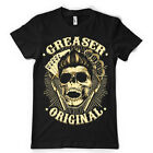 Greaser Original rockabilly haircut razor barber dtg kids MENS t SHIRT ts6