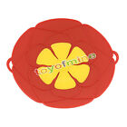 2 Colors Kitchen Cooking Silicone Spill Stopper Lid Pan Pot Cover Overflows Boil