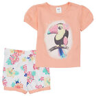 BNWT BABY GIRLS TOUCAN 2PC SUMMER PYJAMA SET CHOOSE SIZE 000 00 0 1 2 NEW