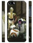 Star Wars BB-8 R2-D2 C-3PO Iphone 4s 5s 5c 6 6S 7 8 X XS Max XR Plus Case 165