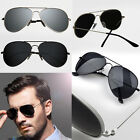 New Fashion Vintage Mens Aviator Sunglasses HD Polarized Mirror Eyewear