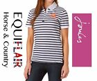 Joules Philippa Womens Classic Fit Polo Shirt - Navy Stripe