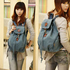 New Casual Women's Vintage Canvas backpack Rucksack Satchel Shoulder Bag Bookbag