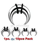 16G-00G Steel C-Shape Buffalo Taper Stretcher Expander with O-Rings Ear & Septum