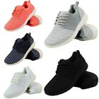 LADIES RUNNING TRAINERS WOMENS FITNESS GYM SPORTS COMFY CASUAL SHOES SIZE