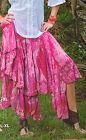 Sacred Threads Long  Full Skirt   Un Lined Multi Colored  NWT Sz S-XL 215538