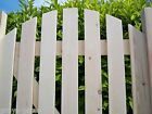 PLANED SMOOTH - SLATTED Wooden Pedestrian Side Garden Gates - ARCHED & FLAT TOP