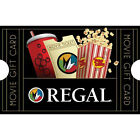Get a $25 Regal Movie Gift Card for only $20 - Email delivery