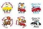 1st birthday stickers - 108 Cars 1st Birthday Hershey Kiss Labels Favors Stickers Personalize Changes OK