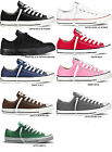 NEW CONVERSE ALL STAR CHUCK TAYLOR OX Black White Red Navy Charcoal CANVAS MEN