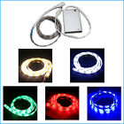 1m LED Lights Strip battery powered Showcase Camping Longboard Nightlight Bike