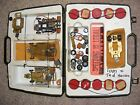 Vintage 1960's 1 24 Scale Slot Car GTX Pit Case Brass Chassis Parts Cox Revell