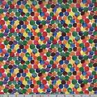 The Very Hungry Caterpillar Abstract Dots 100% Cotton Fabric by Makower  FQ