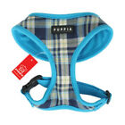 Puppia Dog Harness Soft Collar Spring Pink or Blue Plaid - Authentic Original