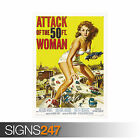ATTACK OF THE 50 FOOT WOMAN VINTAGE (1247) Photo Poster Print Art * All Sizes
