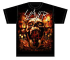 Slayer: Hell Skull T-Shirt  Free Shipping  Official  New