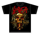 Slayer: Skull Wrap Crucifix T-Shirt  Free Shipping  Official  New