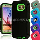 Shockproof Heavy Duty Protective Defender Hybrid TPU Case For Samsung Galaxy S6