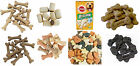 DOG TREATS GRAVY MILKY BONES BISCUITS MINI MARKIES WINALOT SHAPES CHARCOAL BONIO