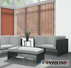 Made to Measure Blind Amsterdam Mocha Vertical Blinds