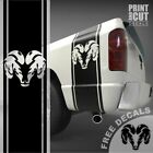 For Dodge Ram truck Decal Vinyl Bed Side Stripe Sticker 1500 2500 3500 DS-005A