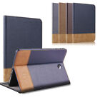 """For Samsung Galaxy Tab S2 8.0"""" T710 Folio Smart Leather Wallet Stand Cover Case"""
