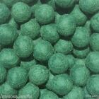 1.5cm Handmade 100% Wool Green Color Felt Ball Beads Pom Pom DIY Craft Supplies