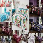Vintage Bedding  Duvet Cover With Pillow Case Quilt Cover Bed Set All UK Sizes
