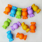 100pcs Mixed Frosted 13 Patterns Jewelry Beads w' free CORD for Kids Crafts