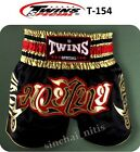 NEW BOXING SHORTS T-154 MUAY THAI GENUINE TWINS SPECIAL K1 SATIN S,M,L,XL,XL,XXL