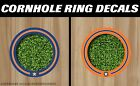 Houston Astros Cornhole Ring Bag Toss Cast Vinyl HD Hole Decals