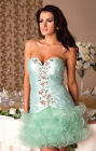 New Ladies Womens Wedding Bridesmaid Cocktail Party Evening Tutu Gown Mini Dress
