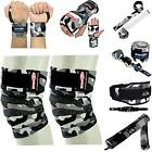 Be Smart Knee Wraps Weight Lifting Straps Belt Barbell Wrist wraps Powerlifting