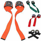 VELO Wrist Wraps Weight Lifting Training Gym Straps Hand Bar Cotton Neoprene