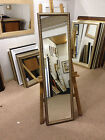 30mm GOLD SHABBY CHIC LONG AND FULL LENGTH DRESSING MIRRORS-VARIOUS SIZES AVAIL