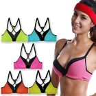 La Isla 5 Packs Sexy Push Up Racer Back Comfort Sports Bras Lot