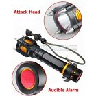 New Military Grade Tactical LED Flashlight Attack Heads Alarm 2000LM X800 Style