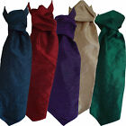 Man's Cravat in Choice of Five Colours: Red, Cream, Purple, Emerald Green & Teal