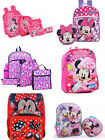 Disney Minnie Mouse 10 16 School Backpack with Lunch Box Different Size