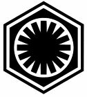 FIRST ORDER STAR WARS LOGO VINYL DECAL/STICKER CHOOSE SIZE/COLOR $1.4 USD on eBay