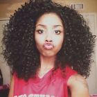 Most Popular With Black Women Lace Front Human Hair Wigs Jerry Curl Short 1B#