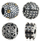 Fashion Authentic Sterling Silver Bead Dots Element For European Charm Bracelets