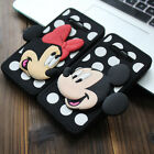 3D Dot Minnie Mickey Soft Silicone Case Back Cover Shell Skin For Various Phones
