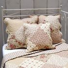 Clayre & Eef * Tagesdecke * green Rose  * Patchwork Look * Quilt * Neu **